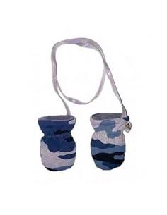 Handschoentjes leger blauw
