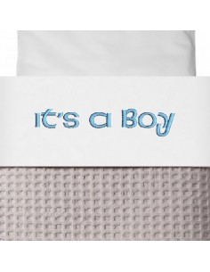 Laken wieg it's a boy