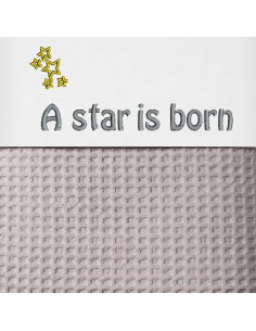 Laken wieg A star is born