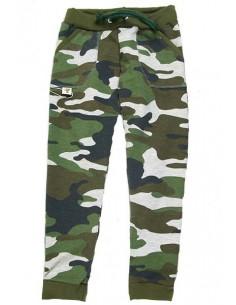 Broek camouflage groen
