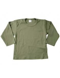 Shirt leger groen
