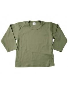 Shirt leger groen