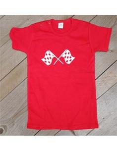 T shirt rood vlag