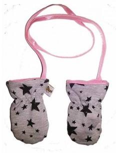 Handschoentjes ster roze