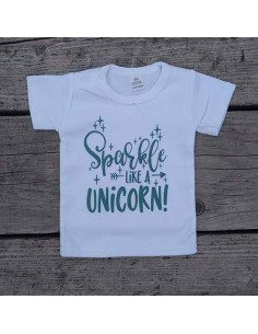 T shirt Unicorn sparkle