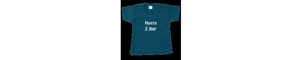Eigen tekst T shirts